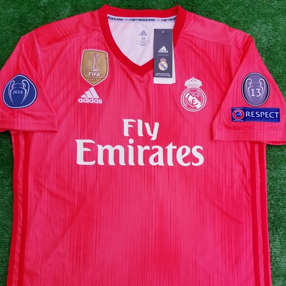 9521d607a13 adidas Shirts | 201819 Real Madrid 3rd Kit Soccer Jersey Bale | Poshmark